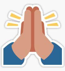 praying emoji stickers redbubble