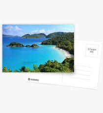 Trunk Bay, St. John USVI Postcards