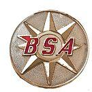 BSA Patch t shirt design by JohnLowerson