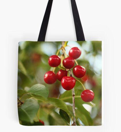 Cherries on the Cherry Tree Tote Bag