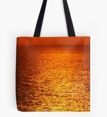 Lake Michigan Sunrise on the Horizon Tote Bag