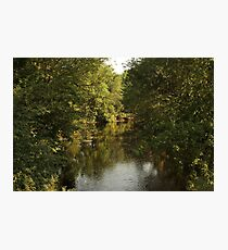 The Bark River Photographic Print