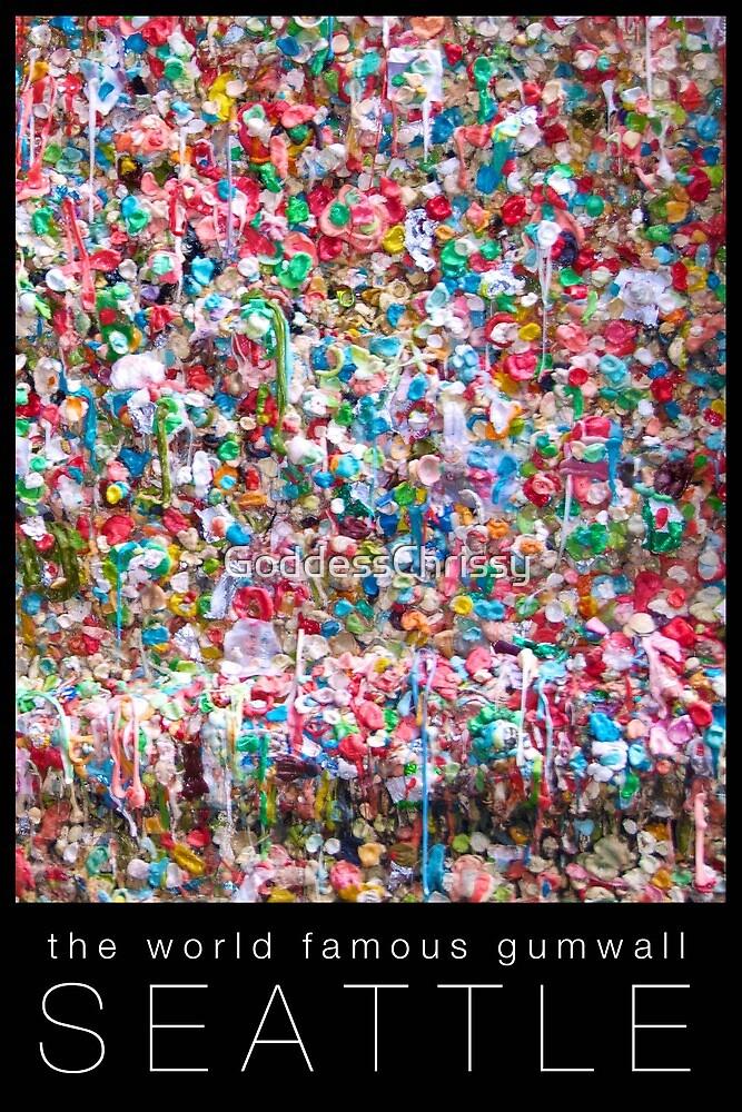 Gum Wall of Seattle # 1 by Chrissy Ferguson