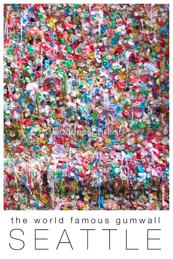 Gum Wall of Seattle # 2 by Chrissy Ferguson