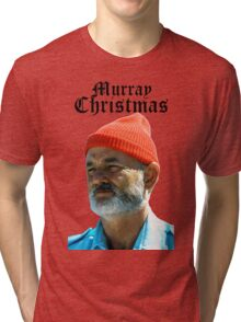 Murray Christmas - Bill Murray  Tri-blend T-Shirt