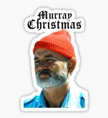 Murray Christmas - Bill Murray  Sticker