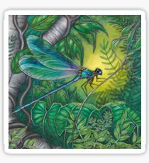 """""""Dragonfly Dreaming"""" Sticker"""