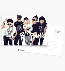 BIG BANG Postcards