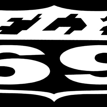 FLY69 Original Logo White by Deadscan