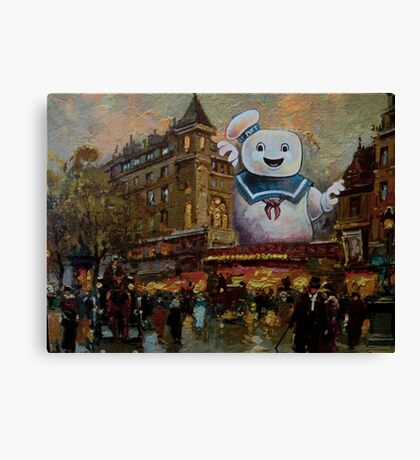 Night on the Town Canvas Print