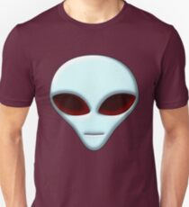Alien Head 01 Unisex T-Shirt