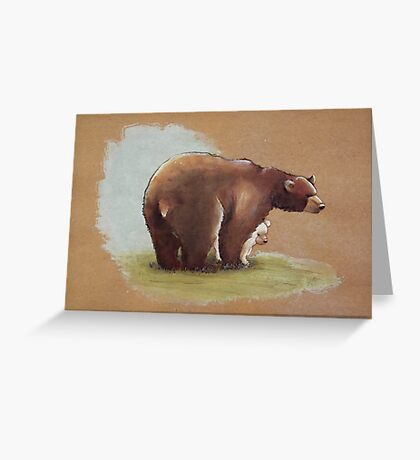 Spirit Cub Greeting Card