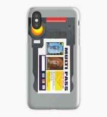 MULTI PASS iPhone Case