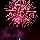 Red Fireworks by cadman101