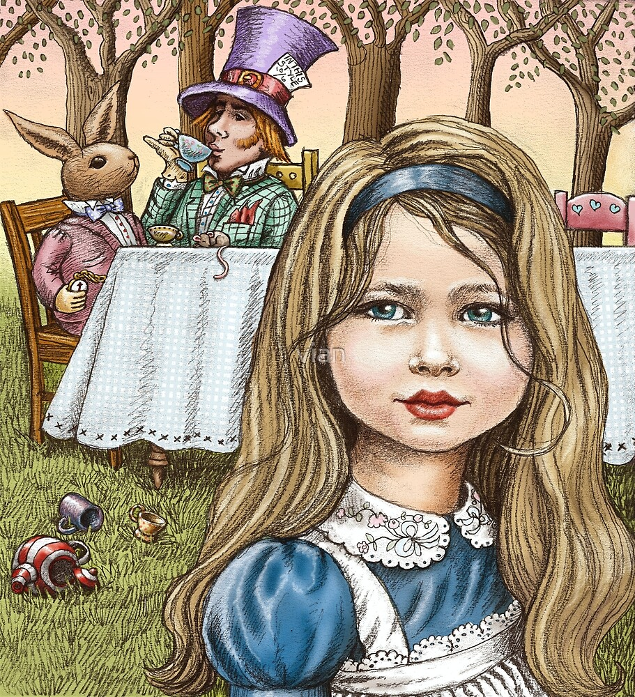 Alice and the mad tea party by vian