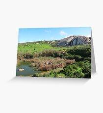 The fore ever rock of life Greeting Card