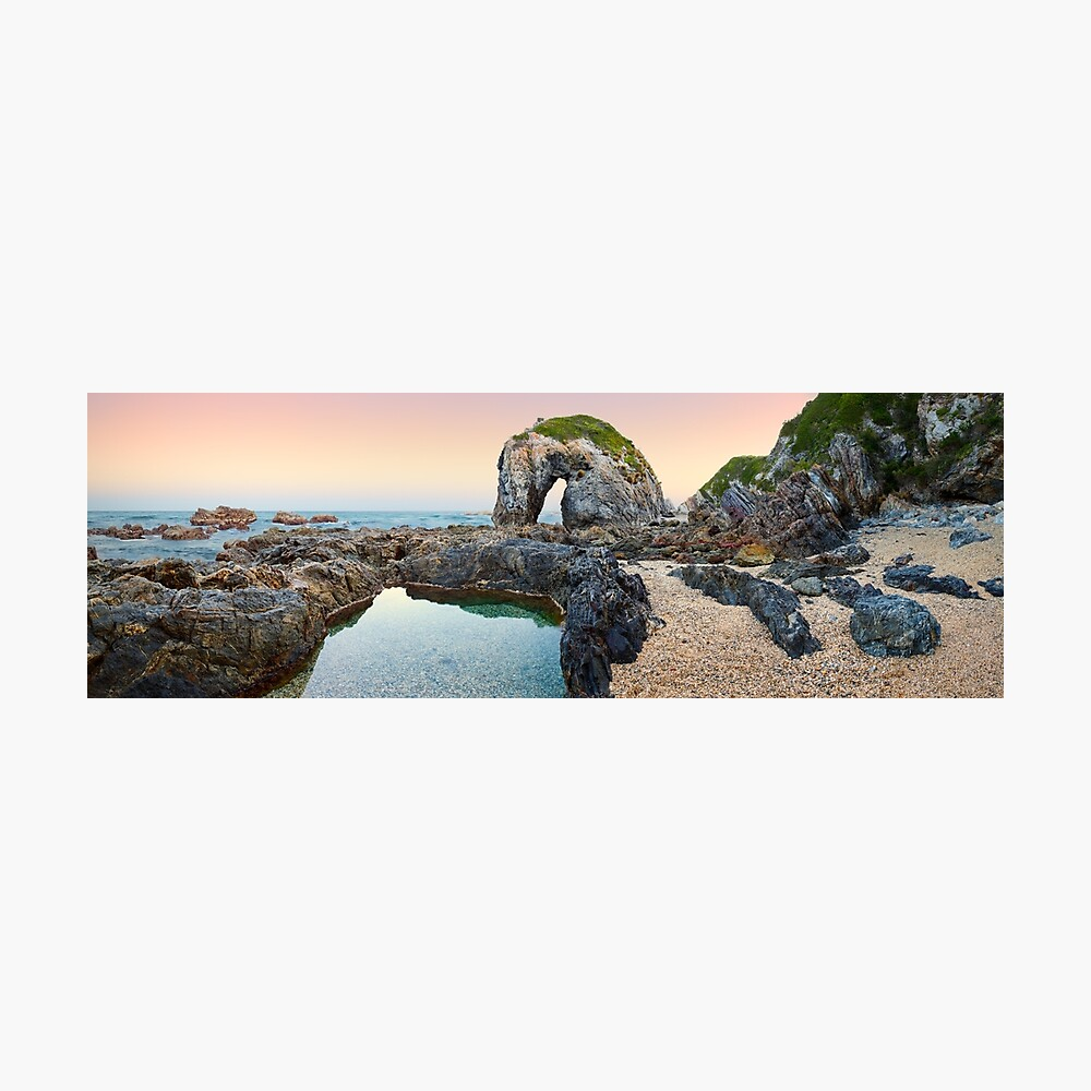 Horse Head Rock, Bermagui, New South Wales, Australia Photographic Print