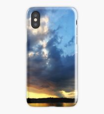 Vineyard haven Sunset iPhone Case