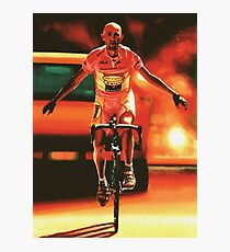 Marco Pantani Painting Photographic Print