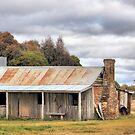Old Homestead Bungendore  NSW by Kym Bradley