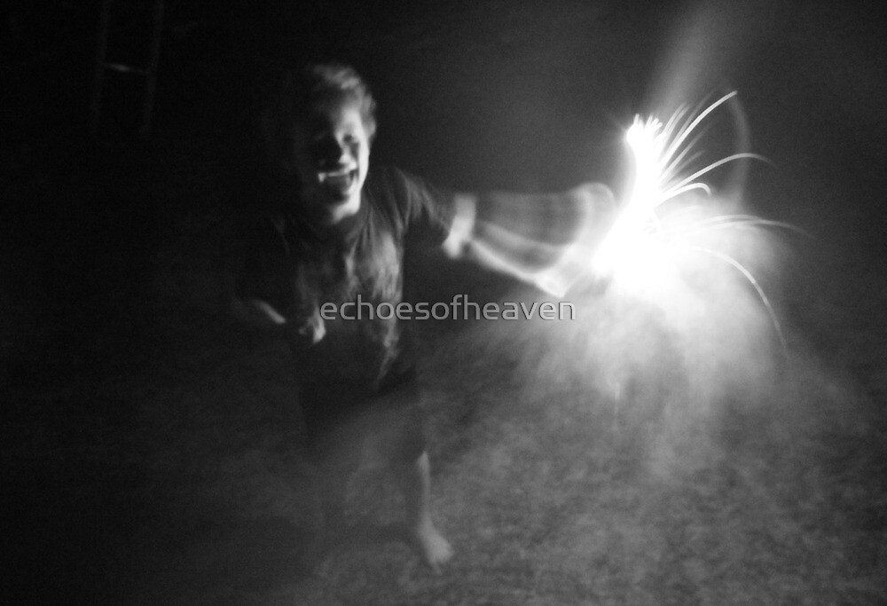 """Sparkler Fun 5""  by Carter L. Shepard by echoesofheaven"