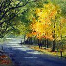 Mount Wilson in Autumn, Blue Mountains, Australia by Joe Cartwright