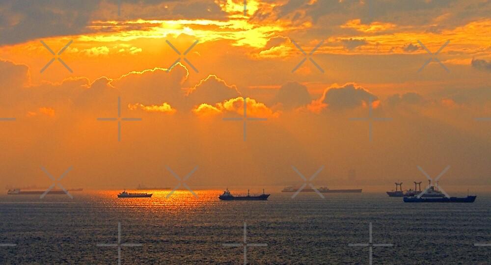 Sea of Marmara by Tom Gomez