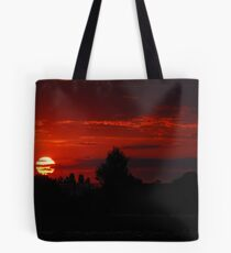 The Beautiful End of a Beautiful Day Tote Bag