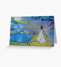 """""""Anticipation""""  by Carter L. Shepard Greeting Card"""
