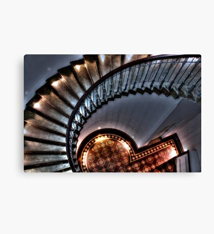 Spiral Down Canvas Print