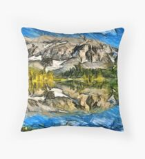 Bergsee Throw Pillow