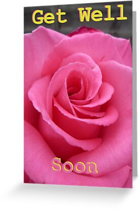 Get Well Soon (Card) by Vicki Spindler (VHS Photography)