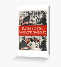 Social Lubricant Greeting Card