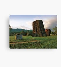 Cemetery Megalith Canvas Print