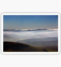 Misty Lanarkshire View Sticker