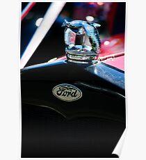 1930 Ford Quail Hood Ornament Poster