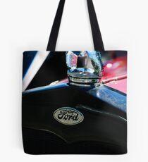 1930 Ford Quail Hood Ornament Tote Bag