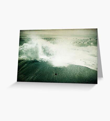 Beside the Sea III Greeting Card