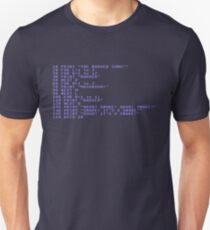 Badger Ad Infinitum - Commodore 64 Style T-Shirt