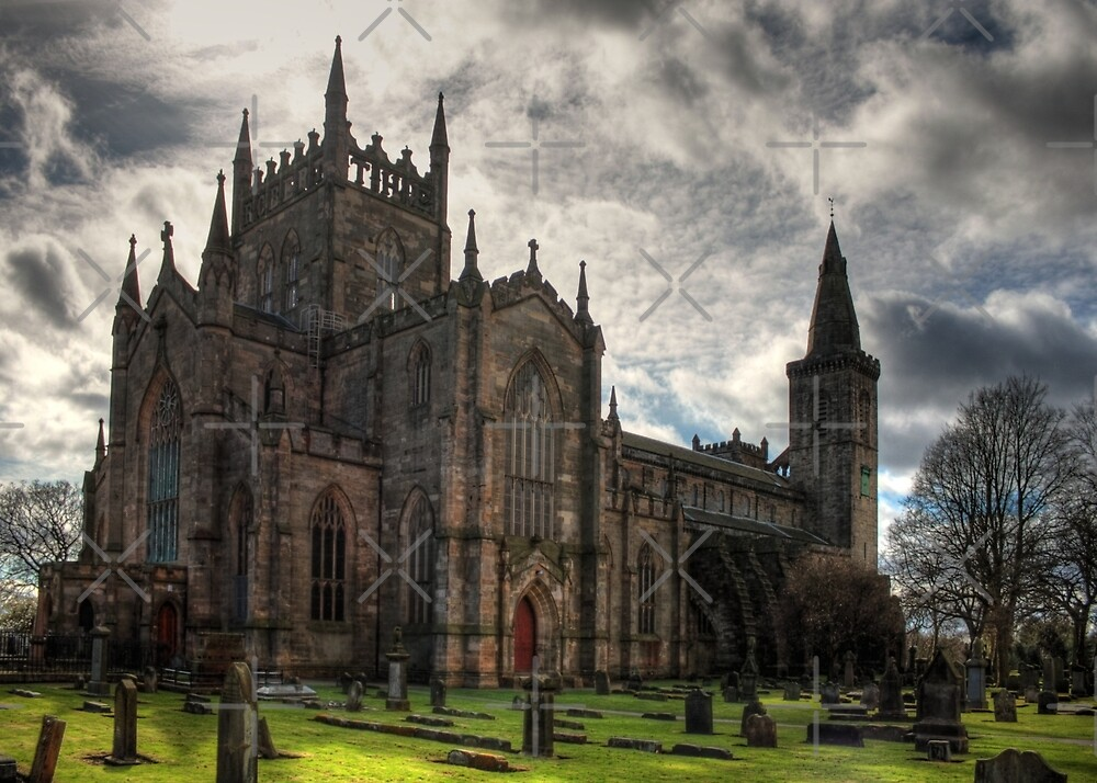 Quot Dunfermline Abbey Church Quot By Tom Gomez Redbubble