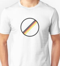 German Flag No Speed Limit Unisex T-Shirt