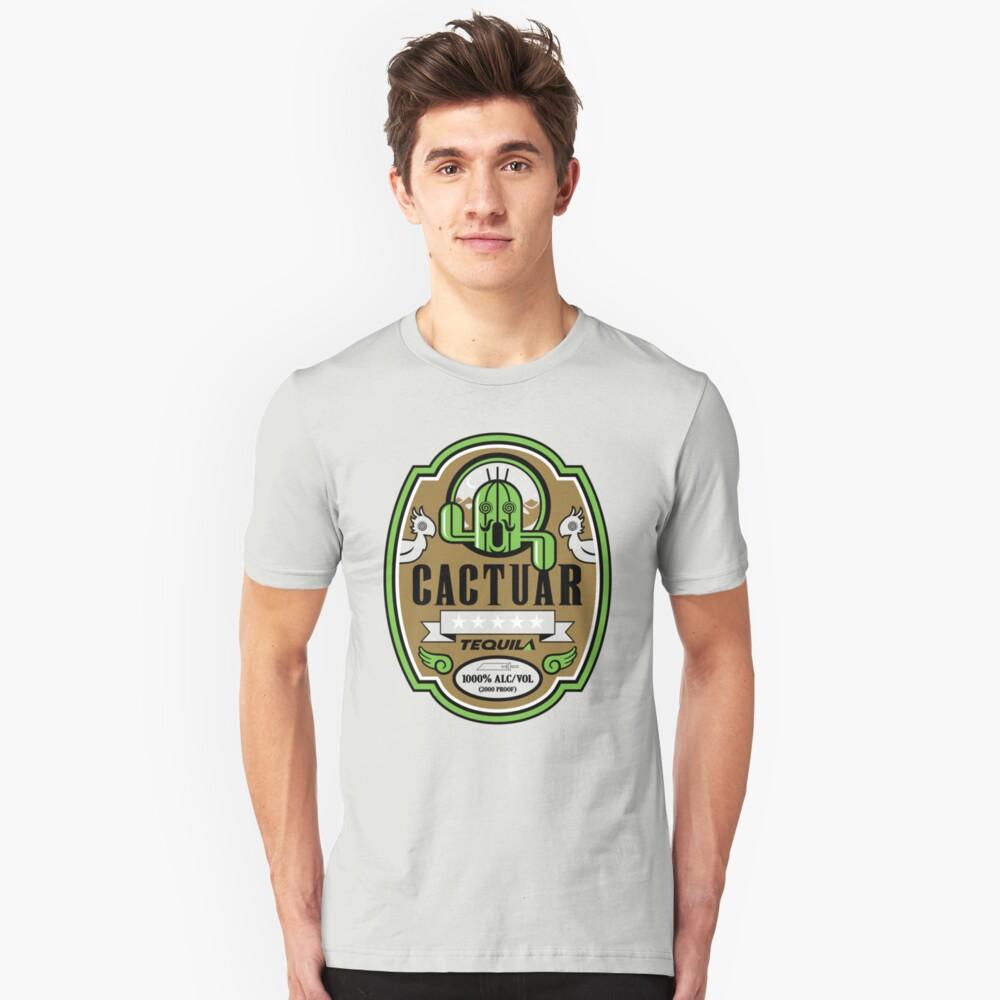 CACTUAR TEQUILA Unisex T-Shirt Front