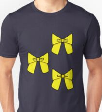 Yellow Bows to cover any holes..... Unisex T-Shirt