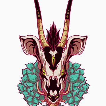 Toxic Hydrangea by BoneGnaws