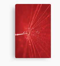Abstrakt Rot Canvas Print