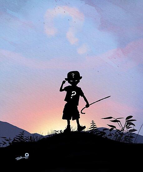 Riddler Kid by AndyFairhurst
