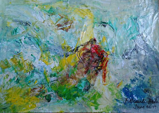abstract painting by fladelita