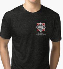 Shinra Corporation - Pocket Print Tri-blend T-Shirt