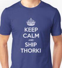 KEEP CALM and ship Thorki T-Shirt