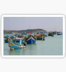 Malta boats  Sticker